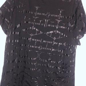 Black on Black Michael Kors T-shirt